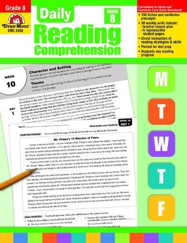 Daily Reading Comprenesion, Grade 8 (daily Reading Comprehension)  Association For Contextual