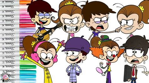 The Loud House Coloring Book Compilation Best Of Luna And