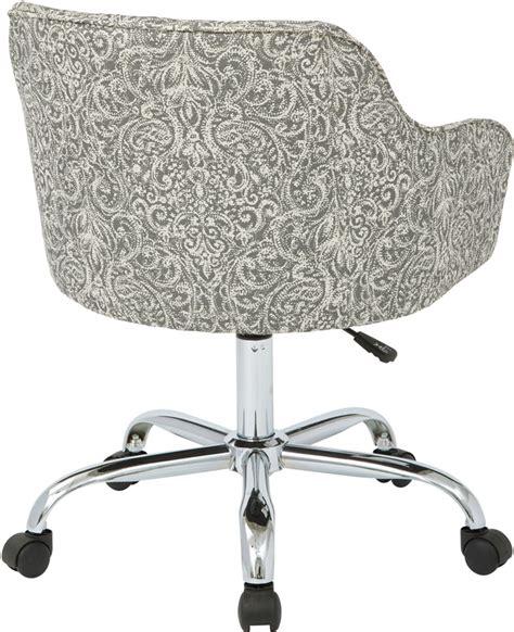ave six bristol fabric task chair veranda pewter brl26