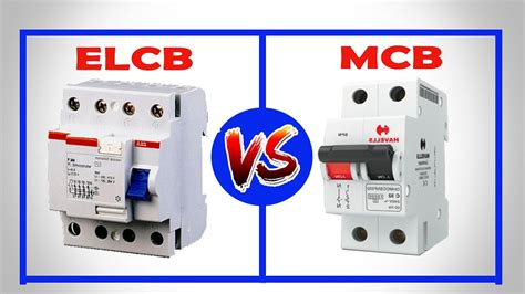 elcb vs mcb difference between elcb and mcb