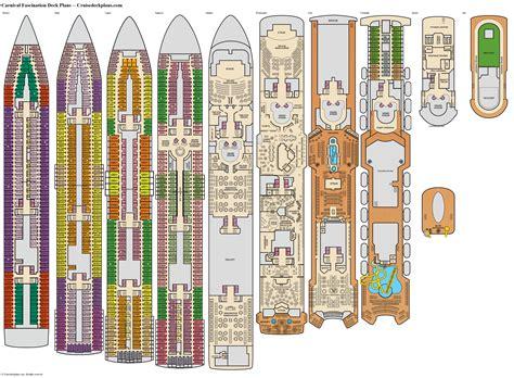 carnival cruise floor plan carnival fascination riviera deck plan tour