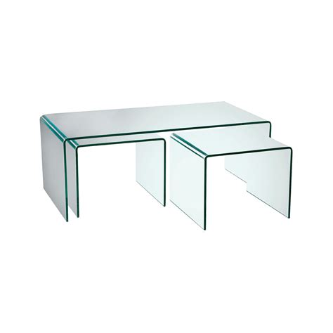 dining room sets with bench puro glass coffee table set dwell