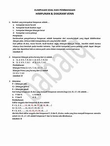 Soal Himpunan Dan Diagram Venn Docx