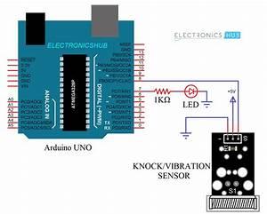 Interfacing Knock Sensor With Arduino  Vibration  Tap