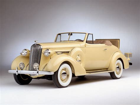 1936 Buick Century Convertible 46c Retro Luxury