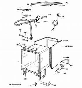 Cabinet  U0026 Exterior Parts Diagram  U0026 Parts List For Model