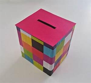 Faire Une Tirelire : bricolage fabriquer une tirelire en carton ~ Nature-et-papiers.com Idées de Décoration
