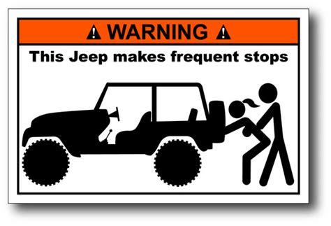 jeep bumper stickers pics for gt funny jeep bumper stickers