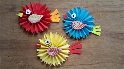 papercraft    easy paper craft diy paper birds