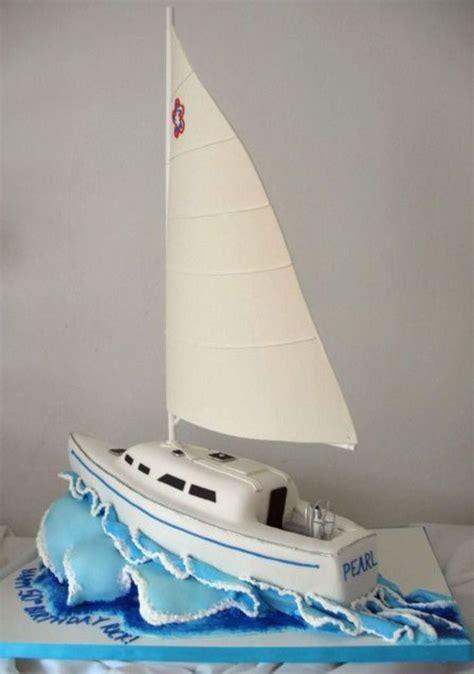 Sailing Boat Cake by 152 Best Sailboat Sailing Cake Ideas Images On Pinterest