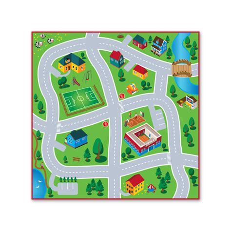 tapis de jeux pour petites voitures biggy boom