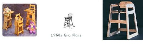 wooden baby high chair plans  woodworking