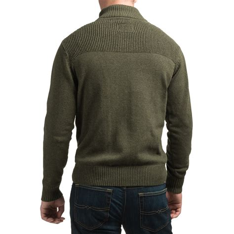 sherpa sweater coleman zip neck sweater for save 64