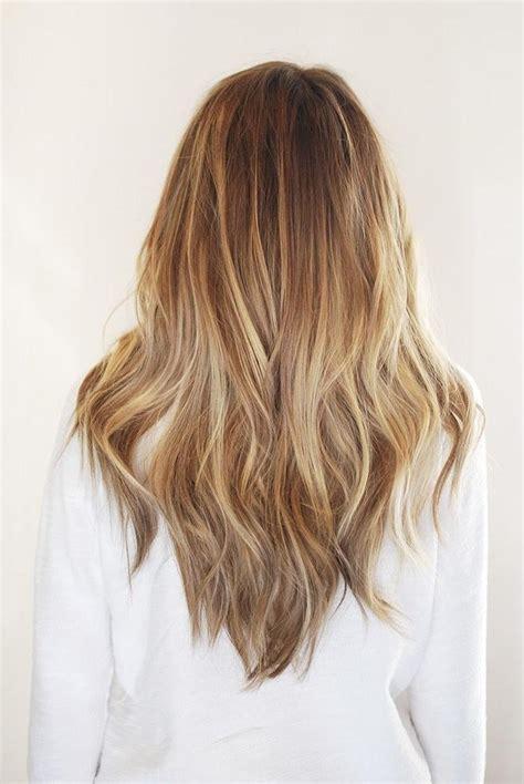 20 photo of v shaped layered haircuts