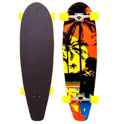Xq Max Longboard Cruiser Long Skate Board Skateboard Beach