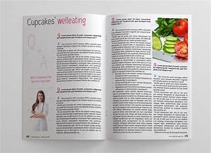 food magazine template 48 pages magazines With magazine templates for pages