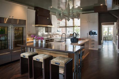 white kitchen cabinets with brown walls photo page hgtv 2068
