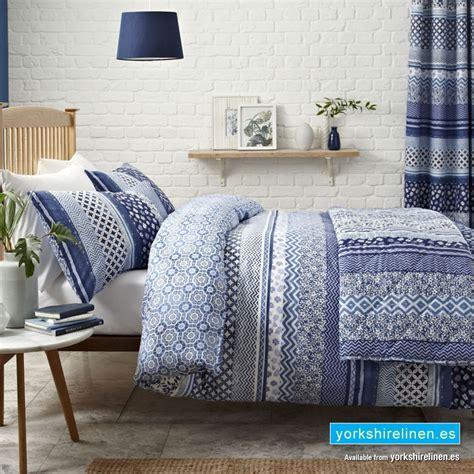 Santorini Blue Duvet Cover Set Buy Now From Yorkshire