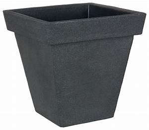 Pflanzkübel Aus Kunststoff : pflanzk bel prado quadratisch aus kunststoff in anthrazit gartencenter pflanzgef e t pfe ~ Sanjose-hotels-ca.com Haus und Dekorationen