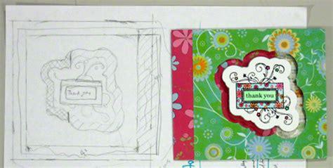 transform ordinary greeting card sketches  superb card