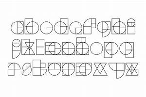 tangram typefaces With co he made the free typeface circuit 2010 google more