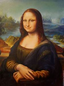 Mona Lisa . Leonardo da Vinci . Manually copy oil , 60x80 ...