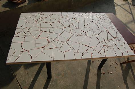 mesa mosaico  jardin tipo gaudi ii parte imaginalia