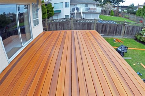Best Way To Apply Floor Wax by Cedar Decking Amp Wood Decks Coquitlam