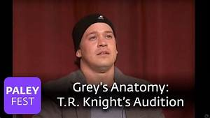Grey's Anatomy - T.R. Knight On Auditioning - YouTube