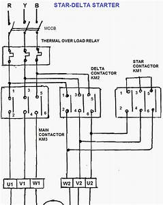 Star Delta Starter Wiring Diagram Explanation Pdf