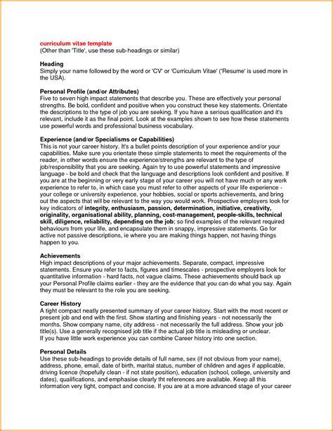 7+ Resume Profile Statement  Authorization Letter