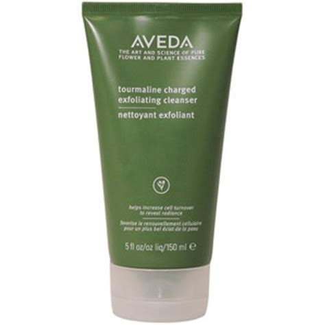 aveda tourmaline charged exfoliating cleanser ml shipping