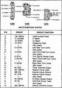 1989 Ford Mustang Multi Function Switch Diagram