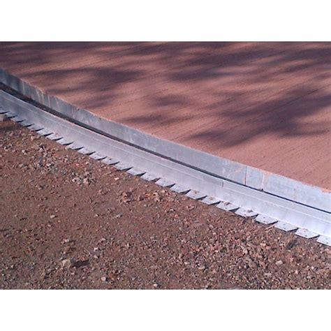 bordure de jardin en aluminium pour lignes arrondies neoverda