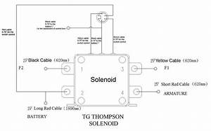 With 2 Solenoids Winch Wiring Diagram
