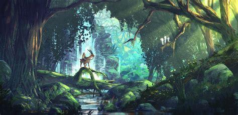 Mononoke Anime Wallpaper - princess mononoke artwork hd artist 4k wallpapers