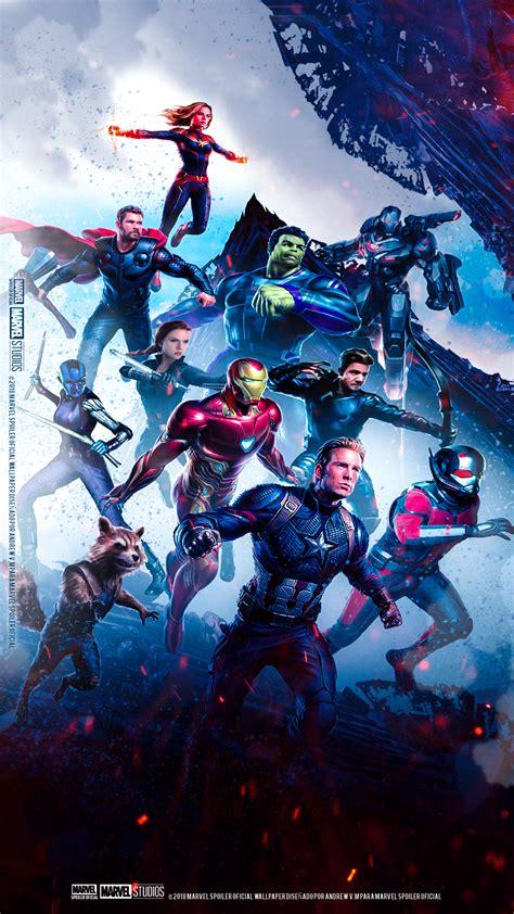 avengers endgame poster wallpapers wallpapersafari