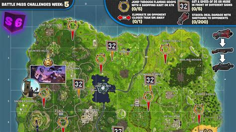 season  week  challenges cheat sheet fortnite news