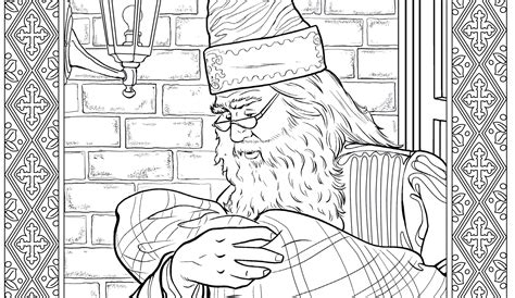 Get A Sneak Peek Of The New Harry Potter Coloring Book
