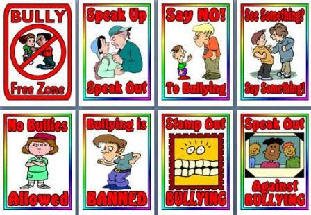 kids art afternoon  anti bullying poster campaign