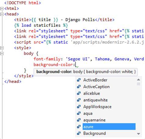 Шаблон вебпроекта Django для Python  Microsoft Docs