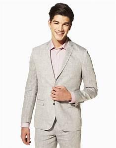Costume Décontracté : veste en lin d 39 ete homme veste en lin homme pour un look ~ Louise-bijoux.com Idées de Décoration