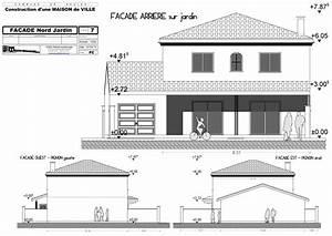 maison individuelle begles pascal rigaud architecte With facade de maison design