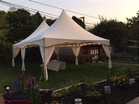 Backyard Tent Rentals by Tent Pole Drape Allcargos Tent Event Rentals Inc