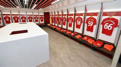 United kingdom, liverpool, 7 townsend lane first floor flat. Inside the new Liverpool dressing room - Reds revamp home ...