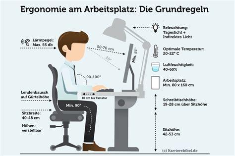 ergonomisch sitzen tipps fuer den buerostuhl karrierebibelde