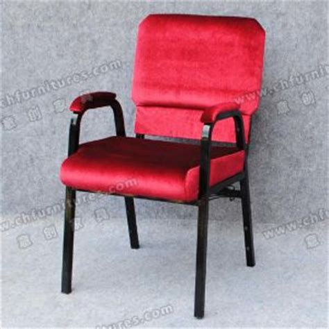 china padded armrest stackable church chair yc g30 01