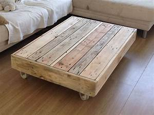 Coffee table on wheels design images photos pictures for Deco cuisine pour table basse relevable