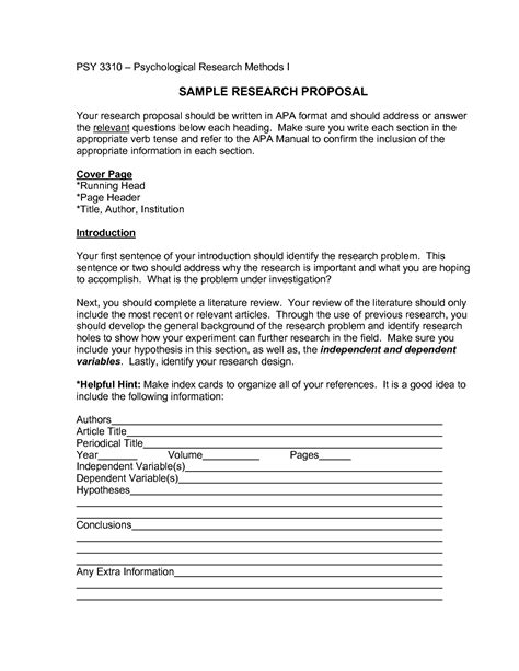 writing sle template apa format research paper outline template tomyumtumweb