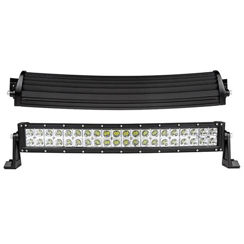 curved led light bar 22 inch black xtreme